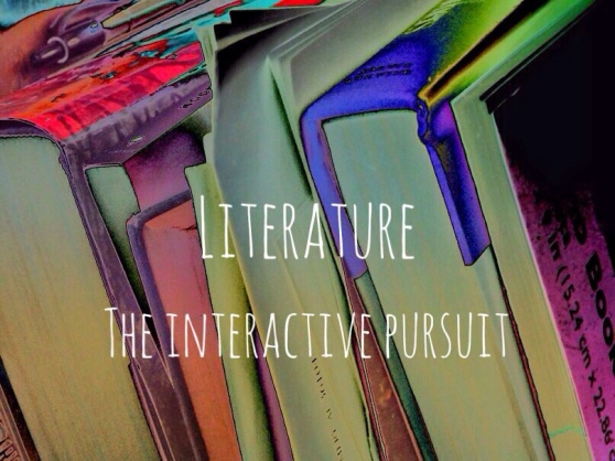 literature the interactive pursuit