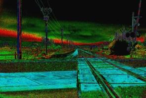 35mm (3) railroad after dark