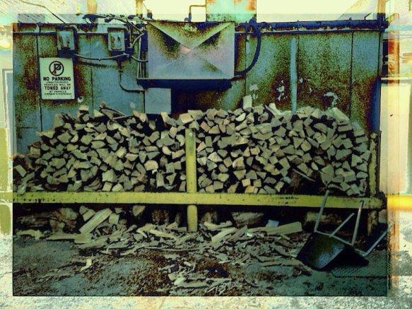 i - wood pile