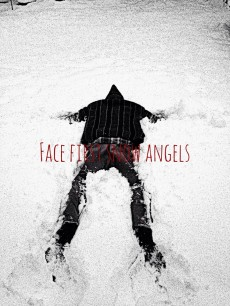 w - i - bw - face first snow angels